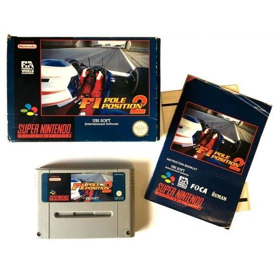 Super Nintendo – F1 Pole Position (Boxed)