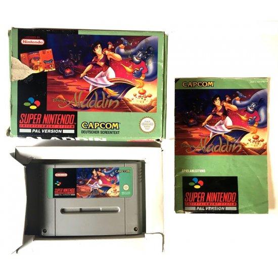 Super Nintendo – Aladdin (Boxed)