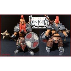 Mythic Legions: Wasteland Actionfigur Torgun Redfin 15 cm