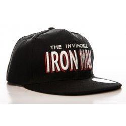 Iron Man Snapback Cap