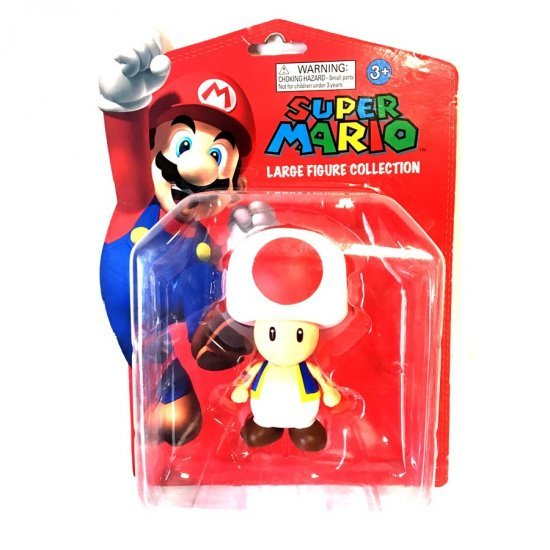 Super Mario: Large Figure Collection – Toad
