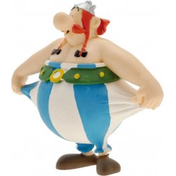 Asterix Figure Obelix holding his pants 8 cm