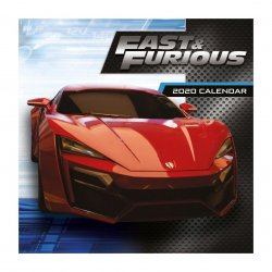 Fast & Furious Calendar 2020
