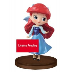 Disney Q Posket Petit Mini Figure Ariel Story of the Little Mermaid Ver. B 7 cm