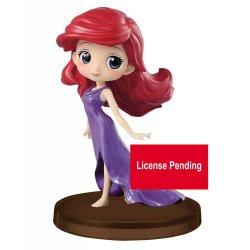 Disney Q Posket Petit Mini Figure Ariel Story of the Little Mermaid Ver. D 7 cm
