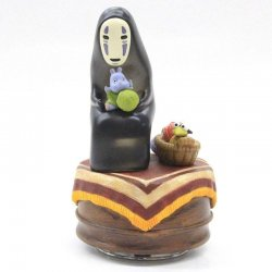 Spirited Away Music Box No Face 14 cm