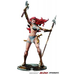 Red Sonja Statue Red Sonja 45th Anniversary by Frank Thorne 32 cm