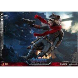 Avengers: Endgame Movie Masterpiece Action Figure 1/6 Rocket 16 cm