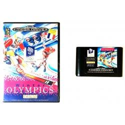 Sega Megadrive - Sega Mega Drive – Winter Olympics -
