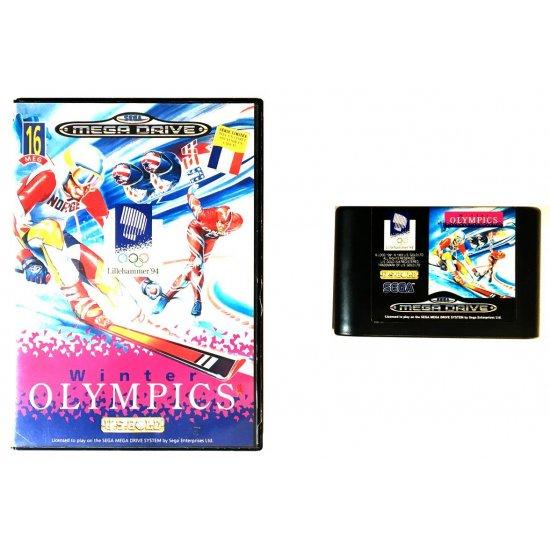 Sega Megadrive – Winter Olympics (Boxed)