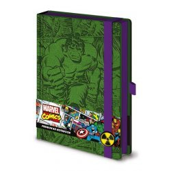 Marvel Comics Premium Notebook - Retro Hulk