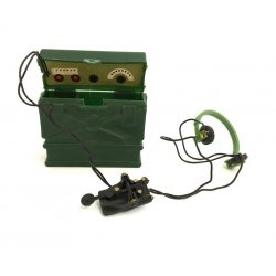 Action Man French Resistance Fighter Radio Communication Set