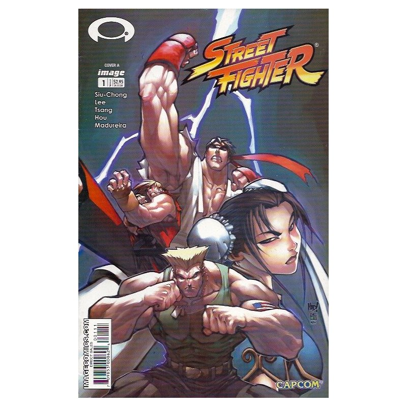 Cómics - Street Fighter 1A (2003 Image) -