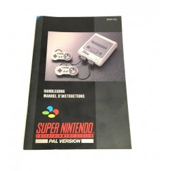 Super Nintendo - Super Nintendo Manual (Dutch French)