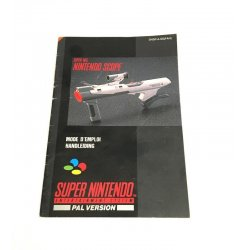 Super Nintendo - Super NES Nintendo Scope Manual (Dutch French)