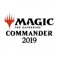 Magic the Gathering Commander 2019 Decks Case (4) french