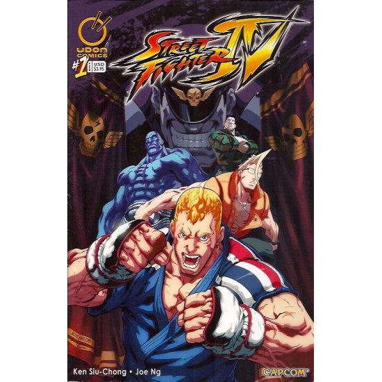 Street Fighter IV 1B (2009 Udon)