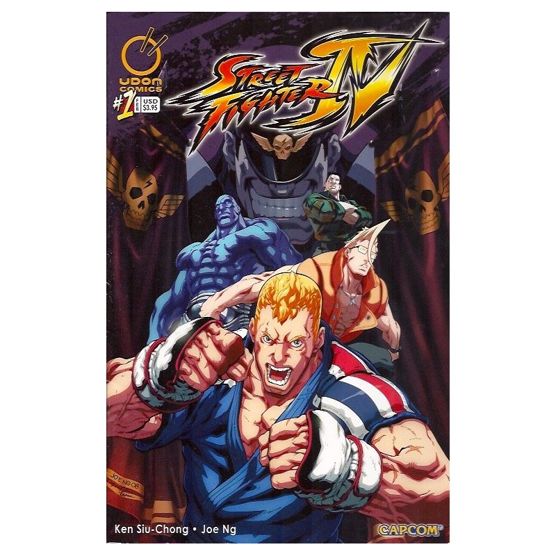 Comics - Street Fighter IV 1B (2009 Udon) -