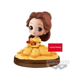 Disney Q Posket Petit Mini Figure Belle 4 cm