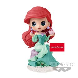 Disney Q Posket Perfumagic Mini Figure Ariel Ver. B 12 cm