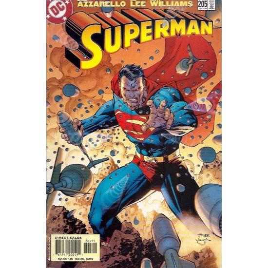 Superman 205A (1987 2nd Series)