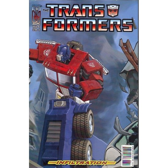 Transformers Infiltration 6A (2006)