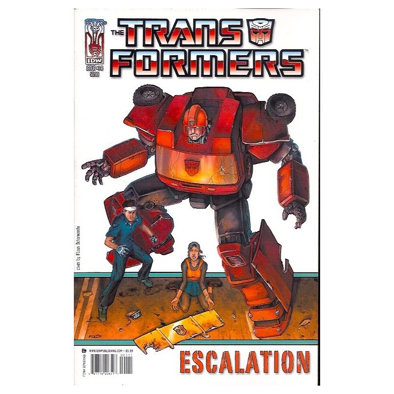 Cómics - Transformers Escalation 1B (2006 IDW) -