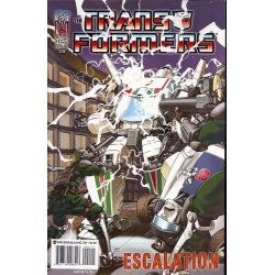 Transformers Escalation 2A (2006 IDW)