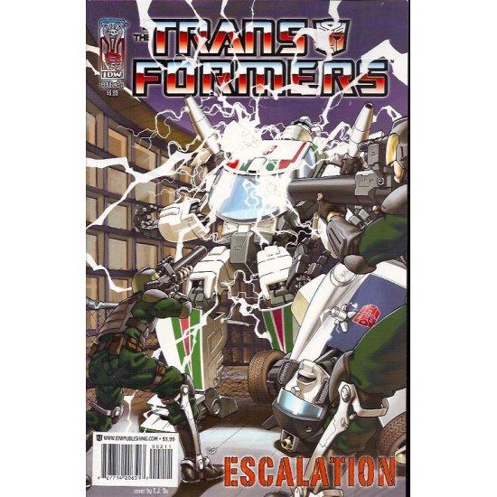 Transformers Escalation 2A (2006 IDW)