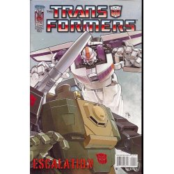 Transformers Escalation 4A (2006 IDW)