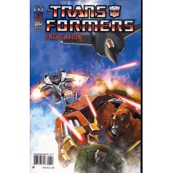 Comics - Transformers Escalation 6A (2006 IDW) -