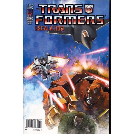 Transformers Escalation 6A (2006 IDW)
