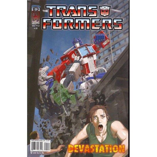 Transformers Devastation 4A (2007 IDW)