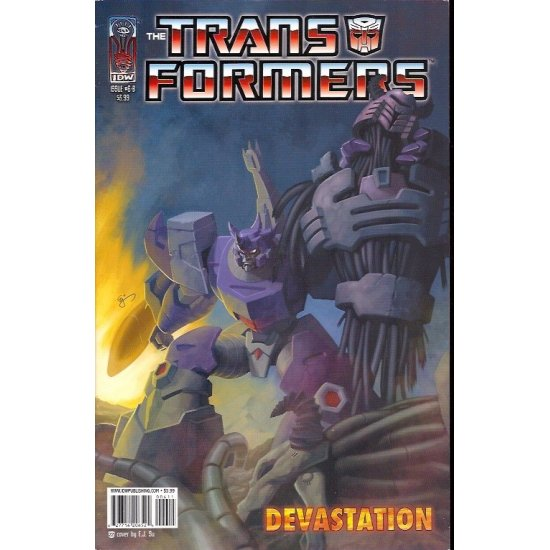 Transformers Devastation 6B (2007 IDW)