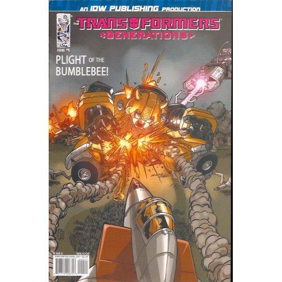 Transformers Generations 4B (2006 IDW)