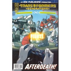 Comics - Transformers Generations 7A (2006 IDW) -