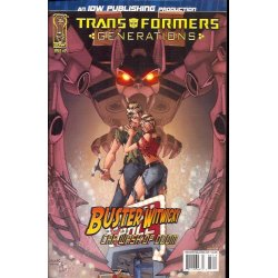 Comics - Transformers Generations 12A (2006 IDW) -