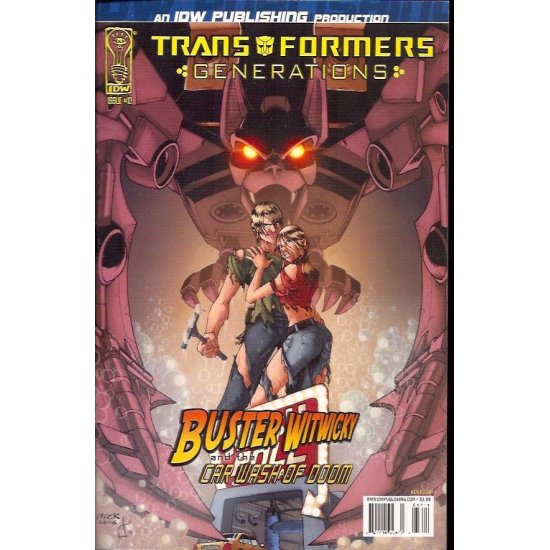 Transformers Generations 12A (2006 IDW)