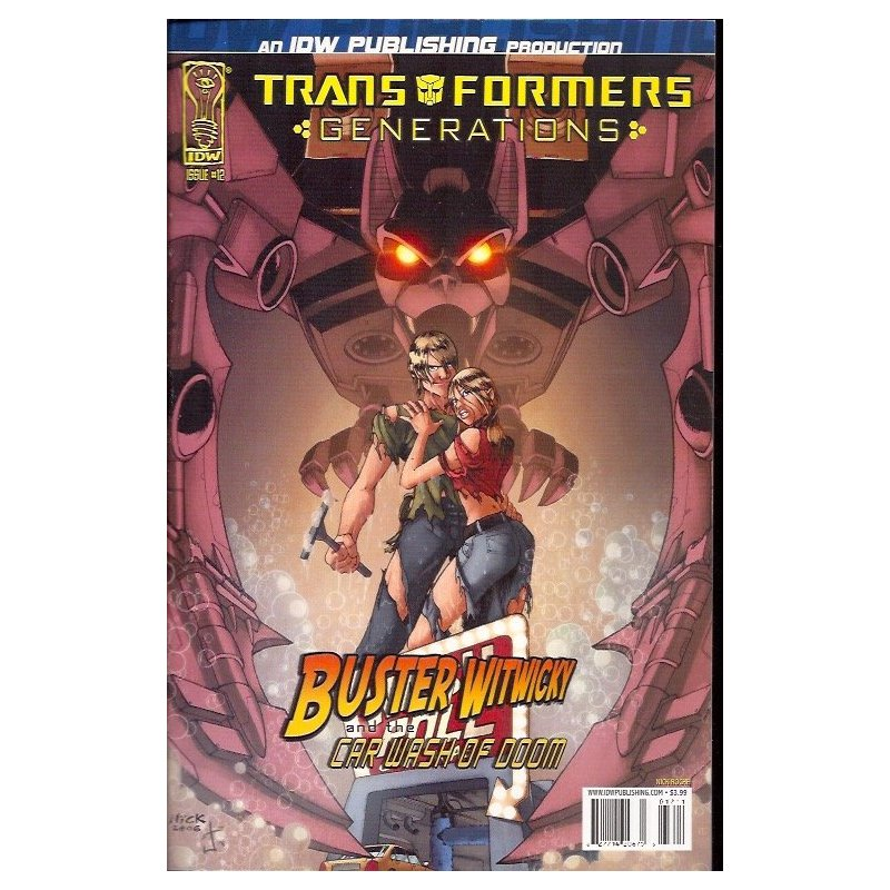 Cómics - Transformers Generations 12A (2006 IDW) -