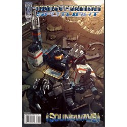 Transformers Spotlight Soundwave 1B (2007)