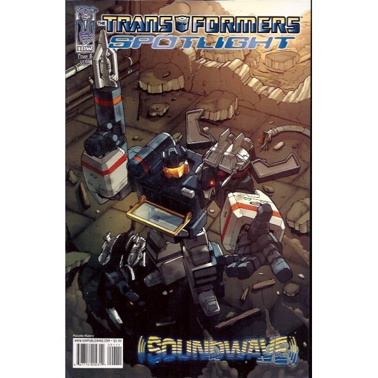 Transformers Spotlight Soundwave 1B (2007)