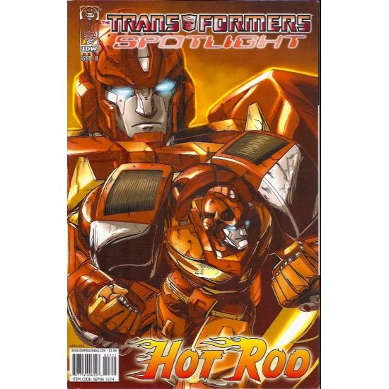 Transformers Spotlight Hot Rod 1B (2006)