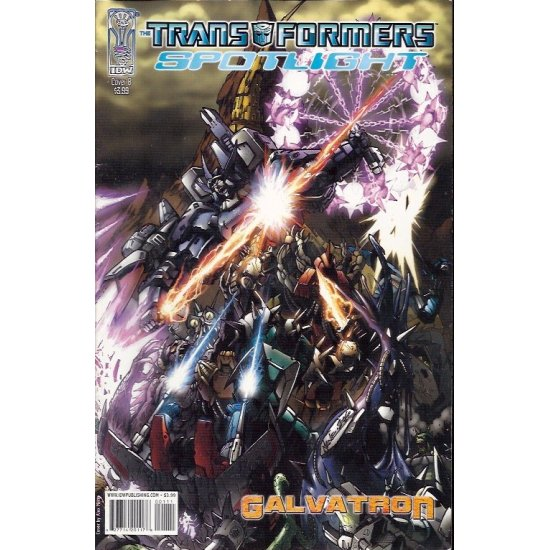Transformers Spotlight Galvatron 1B (2007)