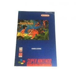Super Nintendo - Jungle Book Handleiding