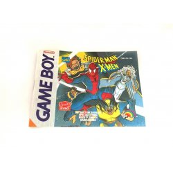 GameBoy - Spider-Man and X-Men Arcade's Revenge Instructions Manual