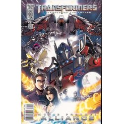 Comics - Transformers Revenge of the Fallen Alliance (2008) 1A -