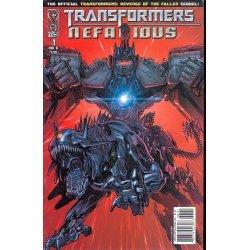 Transformers Nefarious (2010 IDW) 1B