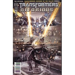 Comics - Transformers Nefarious (2010 IDW) 2A -