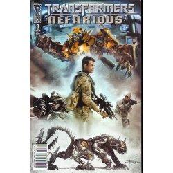 Transformers Nefarious (2010 IDW) 3C