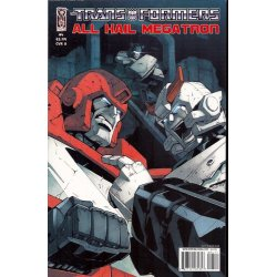 Comics - Transformers All Hail Megatron (2008) 4A -